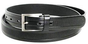 Брючный классический ремень Rovicky PLW-R-14 черный 3 см, фото 2