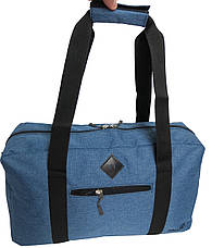 Сумка дорожная Wallaby, 2550 blue, 21 л, синяя, фото 3