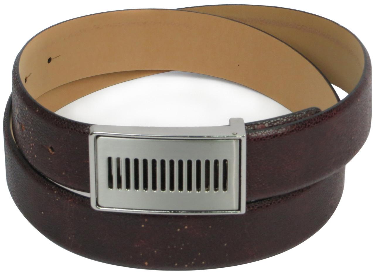 Мужской кожаный ремень Vanzetti, Германия коричневый