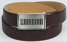 Мужской кожаный ремень Vanzetti, Германия коричневый, фото 3