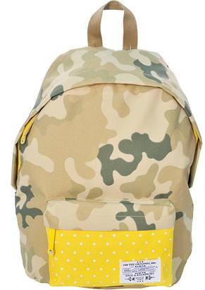 Рюкзак Paso CM-222C камуфляж/желтый 15 л, фото 2