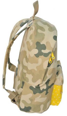 Рюкзак Paso CM-222C камуфляж/желтый 15 л, фото 3