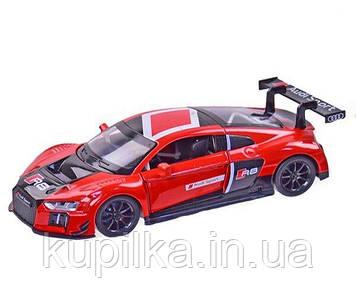 Машина модель Автопром Audi R8 LMS 1:24 металл, звук, свет (68262A)