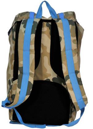 """Рюкзак для ноутбука 15,6"""" Paso CM-192B камуфляж/голубой 25 л, фото 2"""