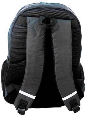 Стильный рюкзак с принтом PASO 21L 15-367E черный, фото 2