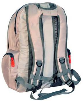 """Рюкзак для ноутбука 15,6"""" PASO, 21L, 13-B30 серый, фото 2"""