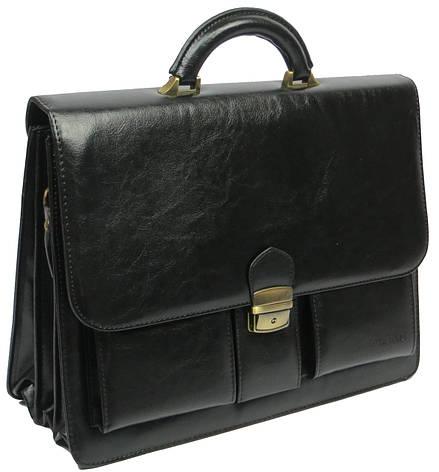 Мужской деловой портфель из искусственной кожи 4U Cavaldi, фото 2
