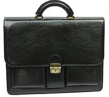 Мужской деловой портфель из искусственной кожи 4U Cavaldi, фото 3