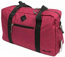 Дорожная сумка Wallaby,  2550 burgundy 21 л, бордовый, фото 2