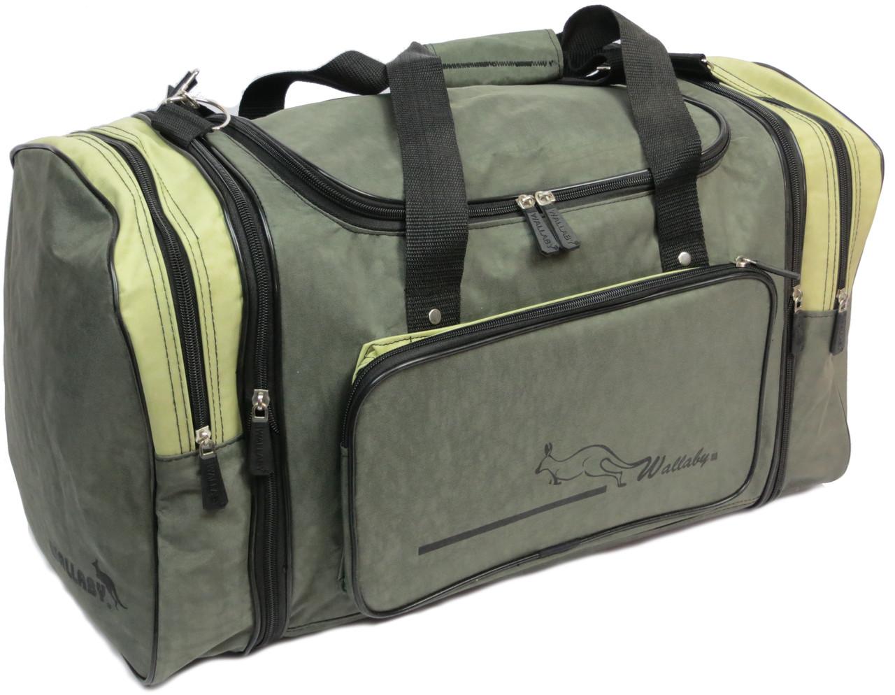 Спортивная сумка с расширением 48 л Wallaby 375-2 хаки