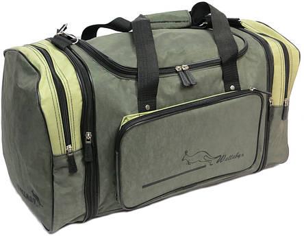 Спортивная сумка с расширением 48 л Wallaby 375-2 хаки, фото 2