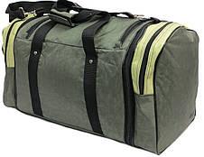Спортивная сумка с расширением 48 л Wallaby 375-2 хаки, фото 3