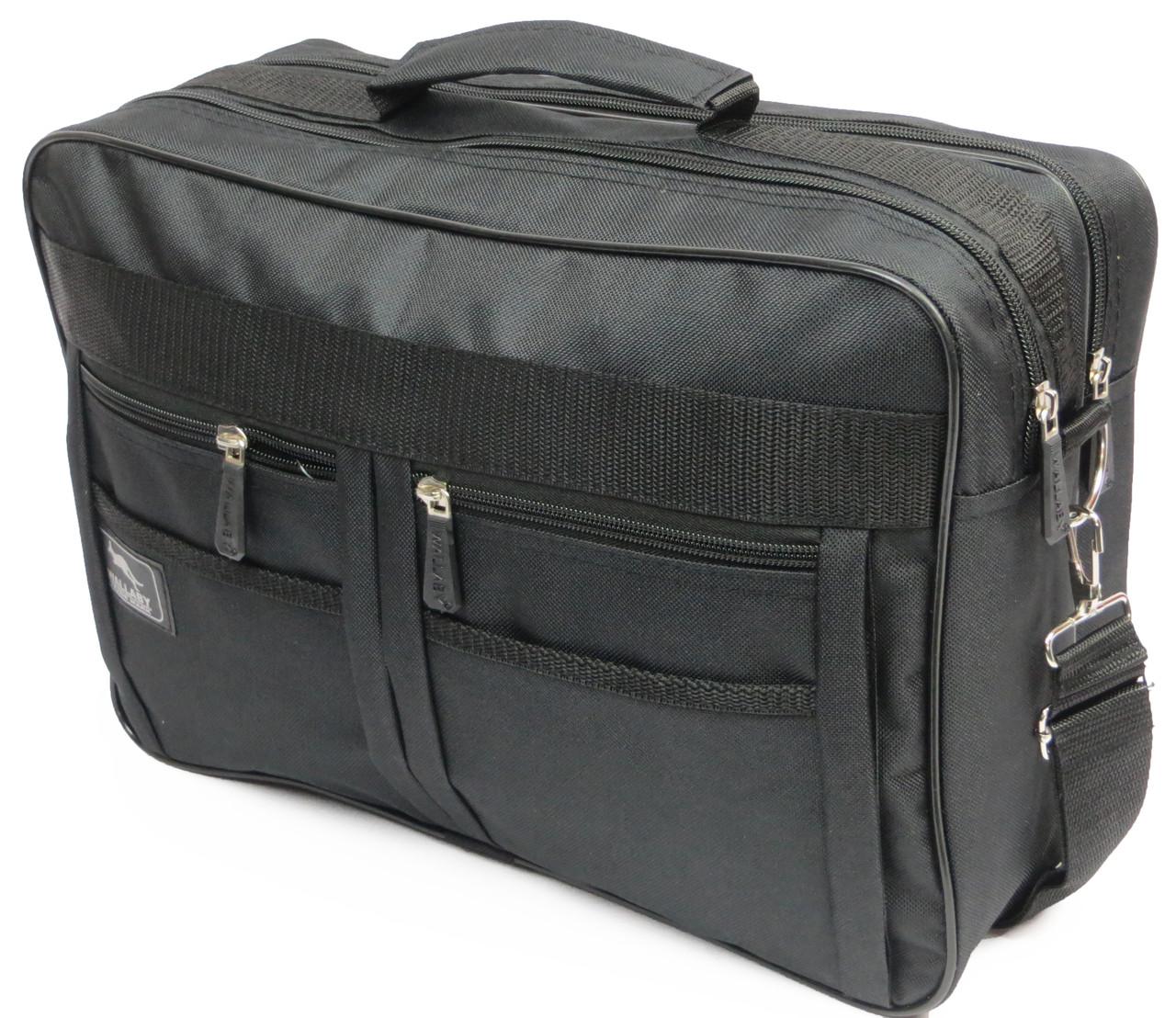 Практичная сумка-портфель Wallaby 2633 black, черный
