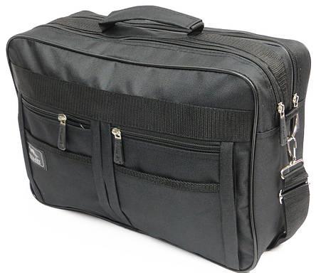 Практичная сумка-портфель Wallaby 2633 black, черный, фото 2