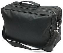 Практичная сумка-портфель Wallaby 2633 black, черный, фото 3