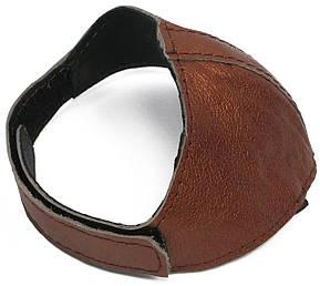 Автопятка кожаная для женской обуви коричневый перламутр 608835-4, фото 2