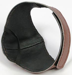 Автопятка кожаная для женской обуви коричневый перламутр 608835-4, фото 3