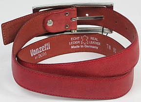 Женский ремень Vanzetti, Германия, 100072 красный, 3,8х109 см, фото 2