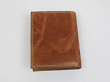 Мужское кожаное портмоне ALWAYS WILD SPRM034 Tan светло-коричневый, фото 2