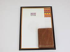 Мужское кожаное портмоне ALWAYS WILD SPRM034 Tan светло-коричневый, фото 3