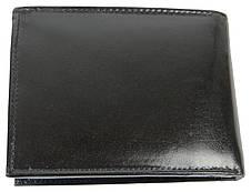 Горизонтальное мужское портмоне из кожи ALWAYS WILD SBLM02CFL черный, фото 2