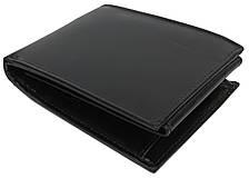 Горизонтальное мужское портмоне из кожи ALWAYS WILD SBLM02CFL черный, фото 3