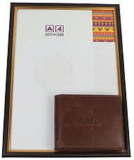 Мужское кожаное портмоне ALWAYS WILD SN992GT Brown, фото 2