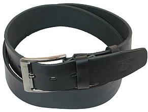 Мужской кожаный ремень под джинсы Skipper 1160-45 черный ДхШ: 134х4,5 см., фото 2