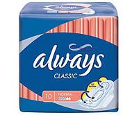 """Прокладки """"Always"""" Classic Normal 4к 10шт/-275/16"""