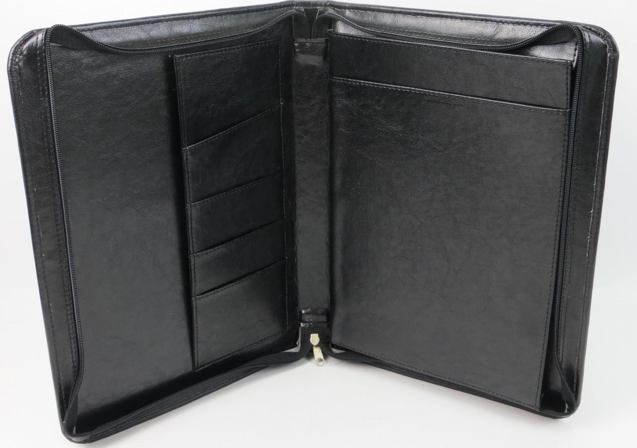 Папка деловая из кожзаменителя Exclusive 710800 чёрный