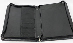 Папка деловая из кожзаменителя Exclusive 710800 чёрный, фото 3