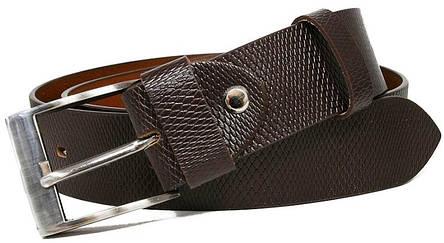 Ремень кожаный для джинс 4U Cavaldi PCS03BSS, 3,8 см, фото 2