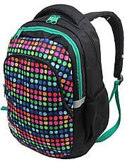 Молодежный рюкзак PASO 18L, 00-699PAN разноцветный, фото 2