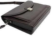 Деловой портфель из эко кожи JPB TE-33 коричневый, фото 2
