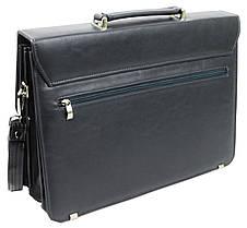 Портфель мужской из эко кожи Verto N01A1 серый, фото 3
