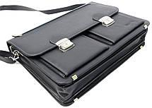 Портфель мужской из эко кожи Verto N01A1 серый, фото 2
