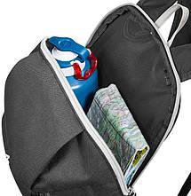 Молодежный, городской рюкзак Quechua arpenaz 10 л. 2487052 черный, фото 3