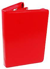 Женская деловая папка из эко кожи AMO SSBW06 красная, фото 2