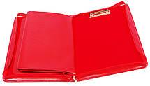 Женская деловая папка из эко кожи AMO SSBW06 красная, фото 3
