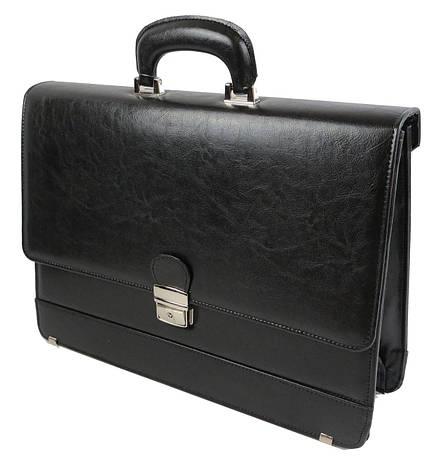 Портфель мужской деловой из эко кожи JPB Vega TE-32, фото 2