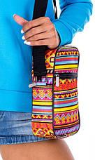 Небольшая тканевая сумка на плечо с совами Loren S01A 2623, фото 2