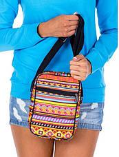 Небольшая тканевая сумка на плечо с совами Loren S01A 2623, фото 3