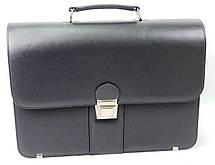 Деловой портфель из кожзама AMO Польша sst08 серый, фото 3