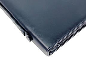 Папка для документов из кожзаменителя AMO SSBW01 синяя, фото 3