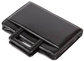 Папка портфель из эко кожи JPB AK-13 черная, фото 2