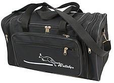 Небольшая дорожная сумка 22 л Wallaby 2686-2 черная, фото 2