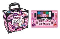 Игровой набор детская косметика - чемодан косметичка, маникюрный набор, декоративная косметика Барби Barbie