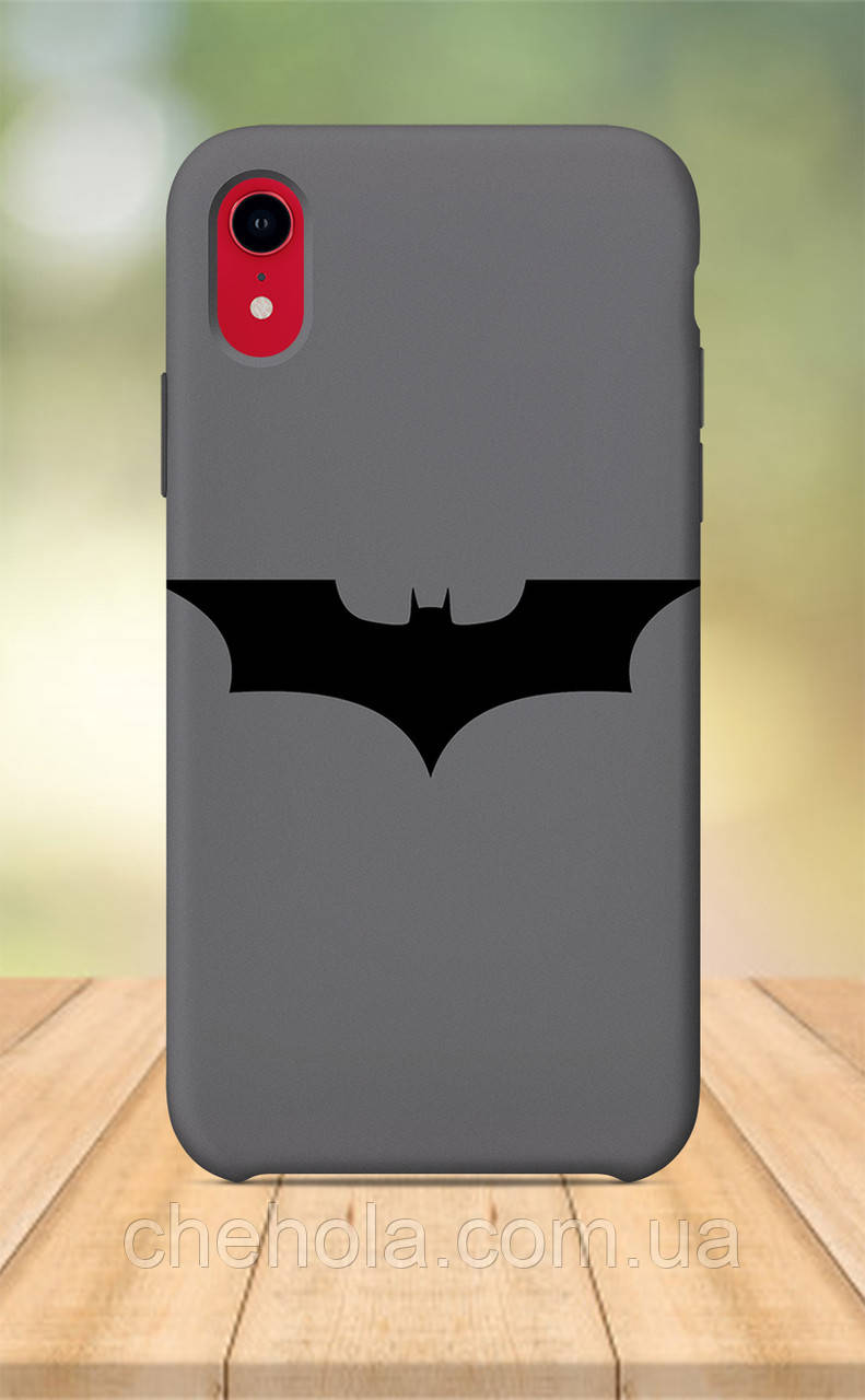 Чехол для apple iphone xr с принтом Marvel DC Комиксы бетмен