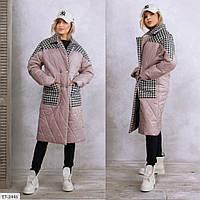 """Пальто жіноче арт. k-68 (2XL, L-XL, S-M) """"REMISE STORE"""" недорого від прямого постачальника AP"""