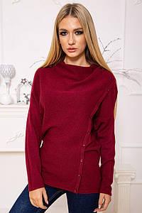 Свитер женский 131R8059 цвет Бордовый